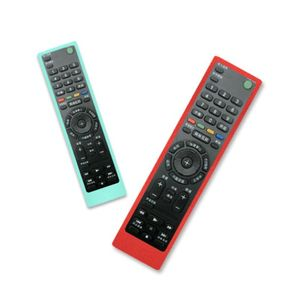 Image 5 - Remote Control Case Silicone Cover Shockproof Protector Washable Skin for Sony RMF TX200C 210 211 TV Voice Controller