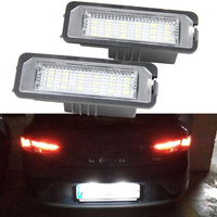 Free Shipping Volkswagen Led License Plate Lamp Factory Supply OEM Design License Plate Light For VW