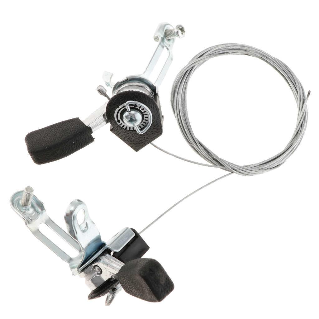 3x7/3x6 cambio de velocidad MTB Freno de bicicleta combo de palanca con Cables de cambio interno de 59-79 pulgadas (1 par) piezas de bicicleta urbana Accesorios