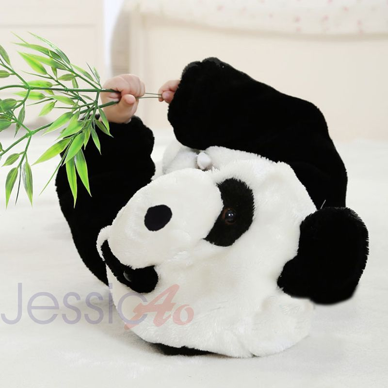 18a68485eb4 Baby Children cute 3D Panda animal jumpsuit bodysuit suitset fleece winter  wear onesie for toddler fun dress up costume-in Clothing Sets from Mother &  Kids ...