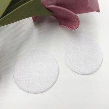 50 шт фетровые 30 мм круглые Аппликации-белый цвет