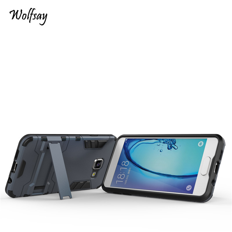 Wolfsay For case Samsung Galaxy A3 2016 Cover Slim Robot Armor Case For Samsung Galaxy A3 2016 Case For Samsung A3 2016 A310 ]<