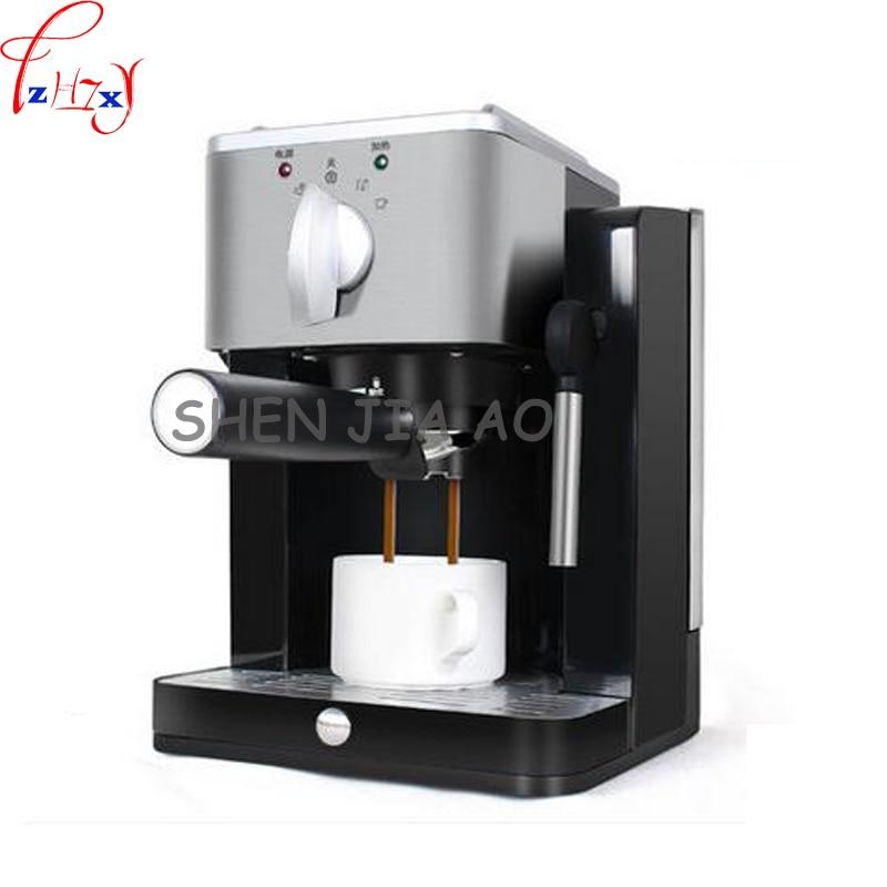 TSK-1827RA home/office semi-automatic coffee machine pump-type high - pressure Italian coffee machine 220V 850W 1pc