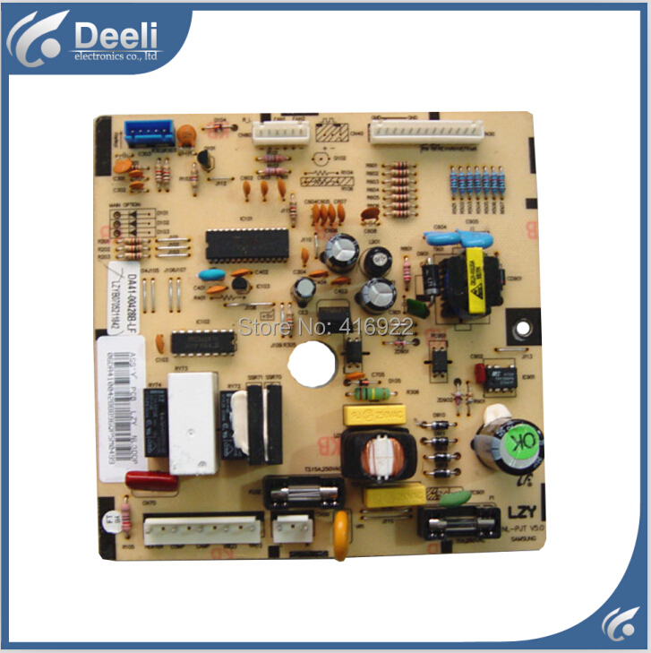 95% new good working 100% tested for Samsung refrigerator pc board Computer board DA41-00428B(EA52) ML-PJT V5.0 95% new 95% new original good working refrigerator pc board motherboard for samsung rs21j board da41 00185v da41 00388d series on sale