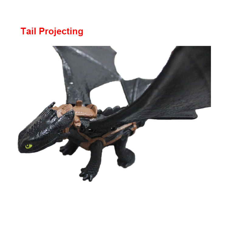 How to Train Your Dragon 2, Toothless Night Fury, about 20cm, Shooting & Tail Projecting Free Shipping,Gift for Boys.Garage Kits how to train your dragon 2 dragon toothless night fury action figure pvc doll 4 styles 25 37cm free shipping retail