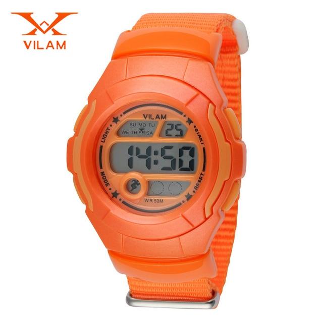 New arrive child waterproof sport watch led digital watch for student children swimming watch kids wristwatch VILAM VL0600
