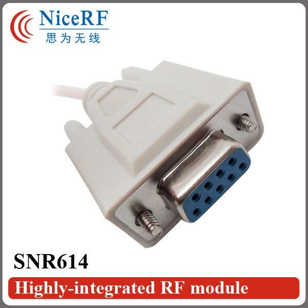 Модуль дистанционного Управления SNR614 | 470 МГц Si4432 Network Node Rf-модуль RS232 Порт для Беспроводной Приемопередатчик Данных