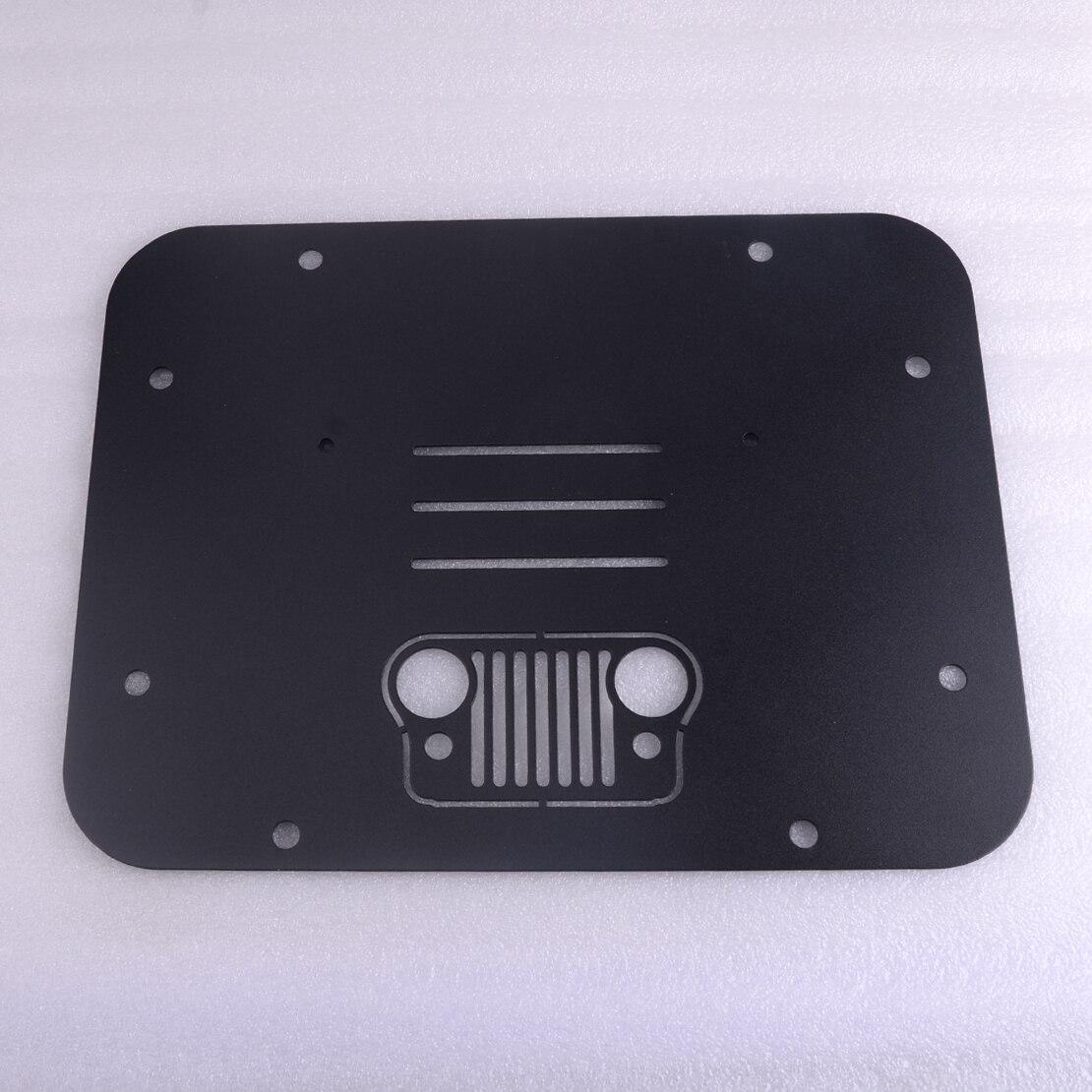 Support de pneu de rechange beler supprimer le tampon de Tramp de plaque de remplissage pour Jeep Wrangler JK JKU 2007-2018
