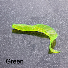 5pcs fishing lure Silicone bait Wobbler Soft lure shad Worm Carp Fishing Lure Set Bionic larva For Trolling swimbait For fishing