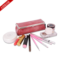 New Fashion Women Cosmetic Bags Case High Quality Female Makeup Box With Mirror Professional Korean Ladies