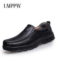 Big Size Men Business Dress Genuine Leather Shoes Leisure Men S Shoes Italian Style Man Classic