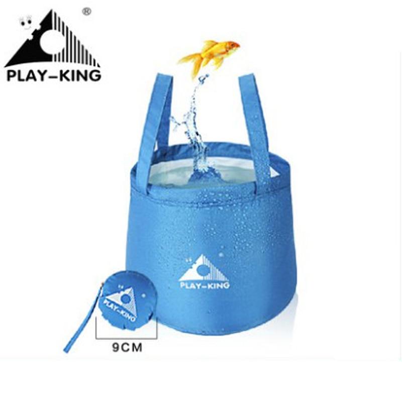Waterproof Foldable Outdoor Camping Travel Water Bag Wash Basin Bucket Bowl Bag