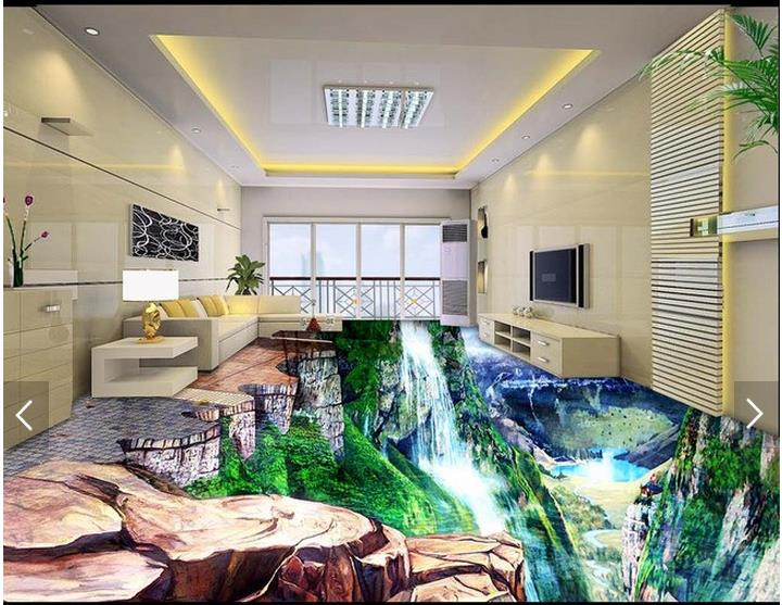 Customized 3d photo wallpaper 3d floor painting wallpaper 3 d waterfall bathroom floor 3 d floor wall paper room decoration customized 3d photo wallpaper murals 3d floor painting wall paper beach pebbles 3d floor tile paintings 3d floor room decoration