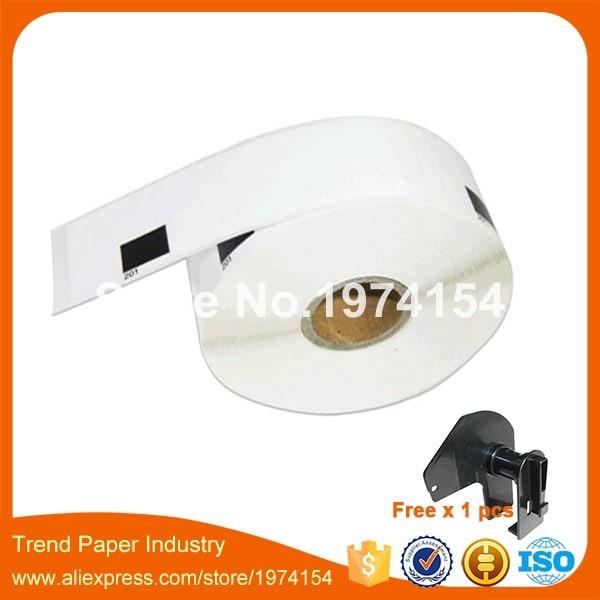 2x Etiketten für Brother P-Touch QL-1050N 1060N 500A 550 570 650TD 700 710W 720