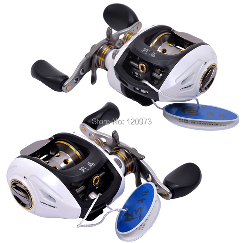 Haibo STEED 50/51/100/101/150/151CS  9BB 6.5:1 Bait Casting Reel Left/Right Hand Baitcasting Lure Reels Bait Cast Wheel spakct cool006 knuckle riding cycle full finger gloves black white red xl 22cm