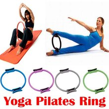 Health care massage Pilate Ring PILATES MAGIC Fitness Circle Yoga Ring breast enlargement beauty care thin waist shaping 3 color