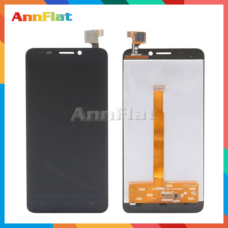high quality For <font><b>Alcatel</b></font> One Touch Idol S 6035 OT6035 <font><b>6035R</b></font> 6035Y LCD Display Screen With Touch Screen Digitizer Assembly image