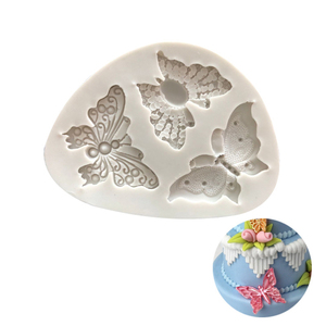 Image 2 - Butterfly Shaped Fondant Silicone Cake Mold Soap Mould Bakeware  Sugar Cookie Jelly Pudding Decor Baking Cooking Tools