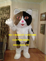 Fancy Mascot cat mascot costume Adult Cartoon character cat theme anime cosplay costumes carnival mascotte fancy dress suit 1771