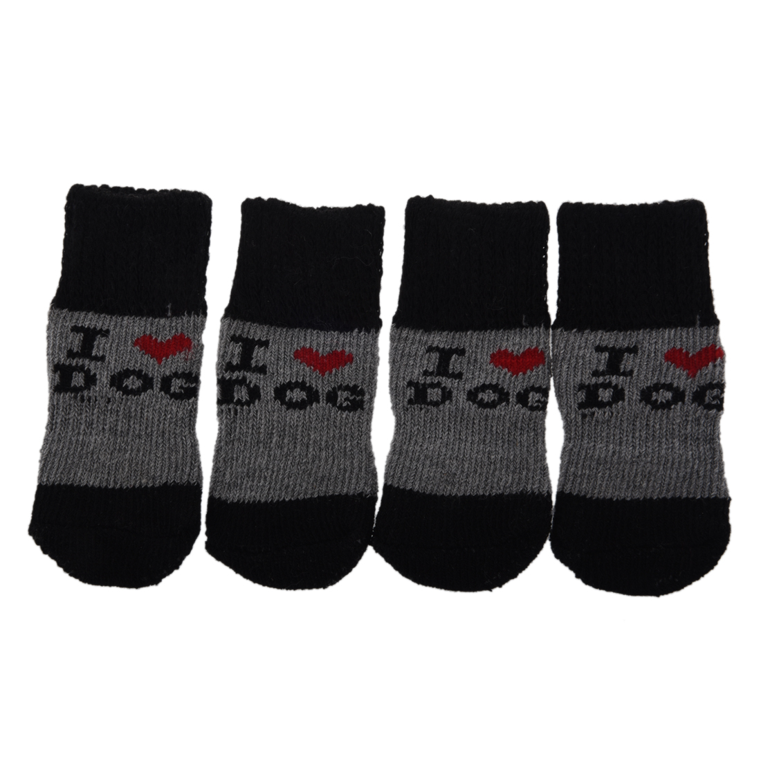 Hot Sale Winter Ribbed Hem Acrylic Shoes Wear Socks for Pet Dog