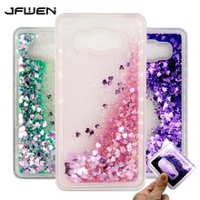 JFWEN For Coque Samsung Galaxy J7 2016 Case Silicone Soft TPU Liquid Phone Cases For Samsung Galaxy J7 2016 J710 Case Cover Back все цены