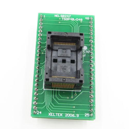 TSOP 48 Chip Test Socket TSOP48 TO DIP 48 SA247 IC Programmer Adapter