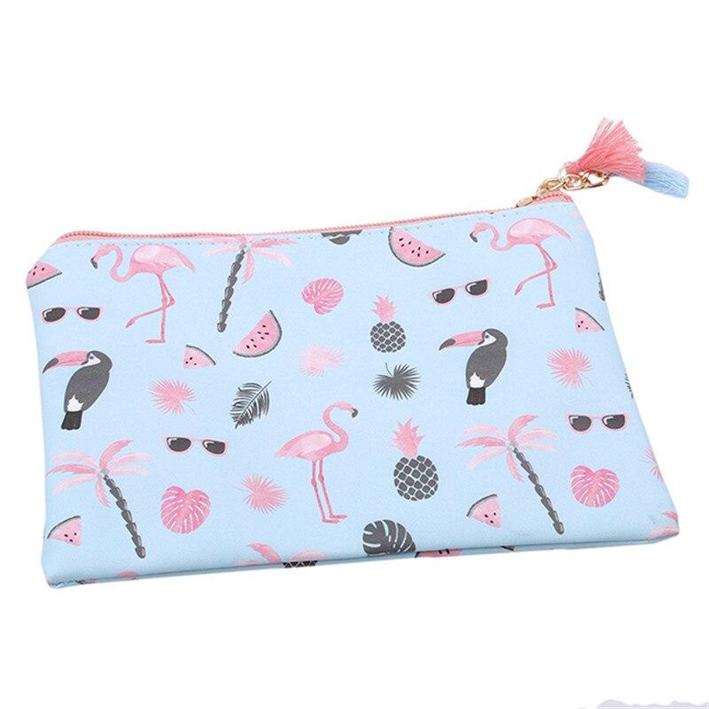 Flamingo Muster Kosmetik Tasche Reise Wasserdichte Tragbare Make Up ...