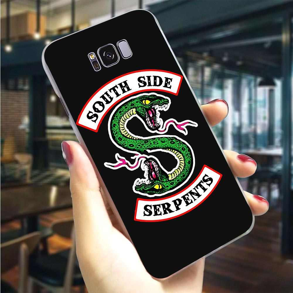Hard Cover for Galaxy S10e Riverdale South Side Serpent Case for Samsung M30 Covers M10 M20 S7 Edge S6 S8 S9 Plus S10 Note 8 9