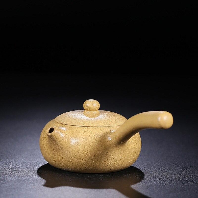 Thee Set Uitgekleed Erts Sesam Periode Van Modder Tang Yu Pot Van Verkopen Als Warme Broodjes Zijn Aanbevolen Door Pure Handleiding Theepot Klanten Eerst