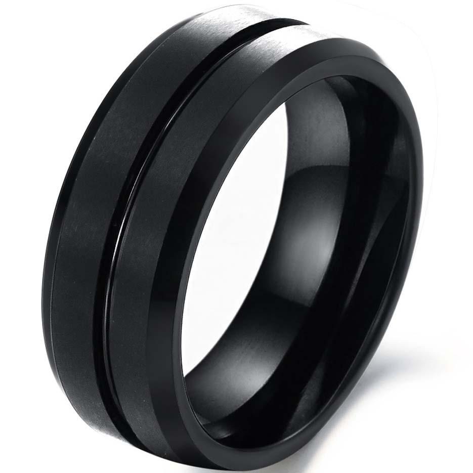 black titanium wedding ring for him rings download - Black Wedding Ring For Him
