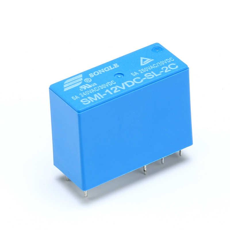 1 個パワーリレー SMI-05VDC-SL-C SMI-12VDC-SL-C SMI-24VDC-SL-C 5 V 12 V 24 V 5A 8PIN リレー