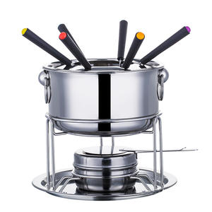 Fondue-Set Chocolate Melting Detachable Cheese Ice-Cream Hot-Pot Cooking Kitchen Stainless-Steel