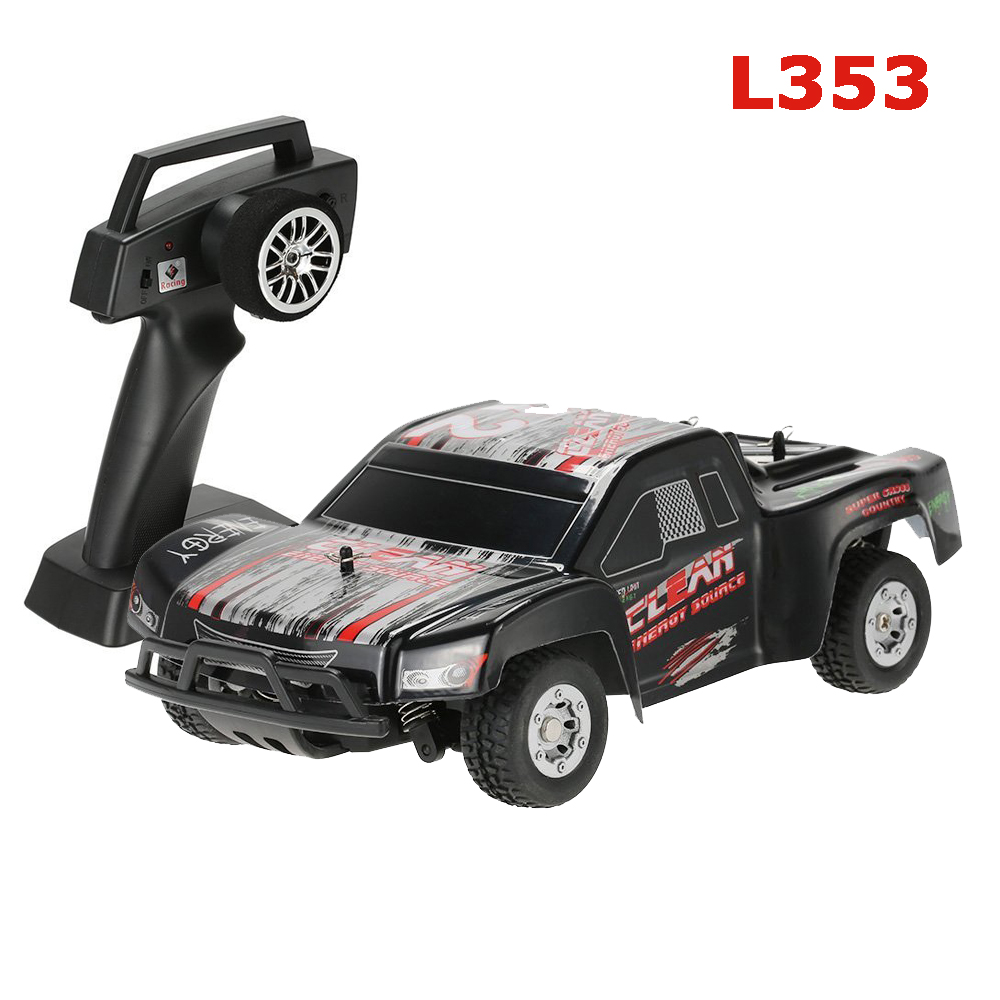 WLtoys L353 1/24 2.4G Electric Brushed 2WD RTR RC Car Short Truck RTR