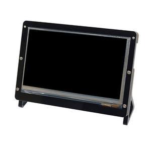 Image 1 - Elecrow 7 بوصة LCD حالة التوت بي شاشة عرض حامل دعم الاكريليك الإسكان قوس ل التوت بي 3 7 بوصة LCD الأسود