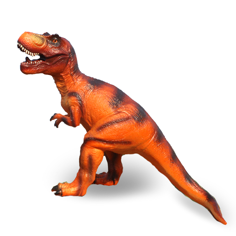 HOT Simulation of plastic rubber dinosaur model action figure toys for children Pterosaurs Tyrannosaurus toys kids puzzle gift 37 cm tyrannosaurus rex with platform dinosaur mouth can open and close classic toys for boys animal model without retail box