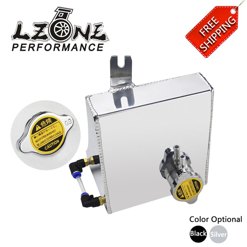 Livraison gratuite-240SX S13 SR20DET KA24DE KA24E KA24 Kit de réservoir de trop-plein de liquide de refroidissement en aluminium pour Nissan (convient: 240SX)