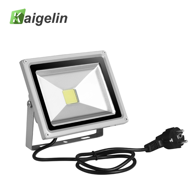 20w Led Flood Light 85v 265v 1400lm Reflector Floodlight Eu Plug Cob Integrated Spotlight Waterproof