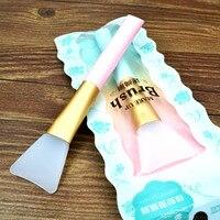 1pc Professional Makeup Brushes Mask Brush Facial Eye Makeup Face Silica Gel DIY Mask Brushes Cosmetic Beauty Tools