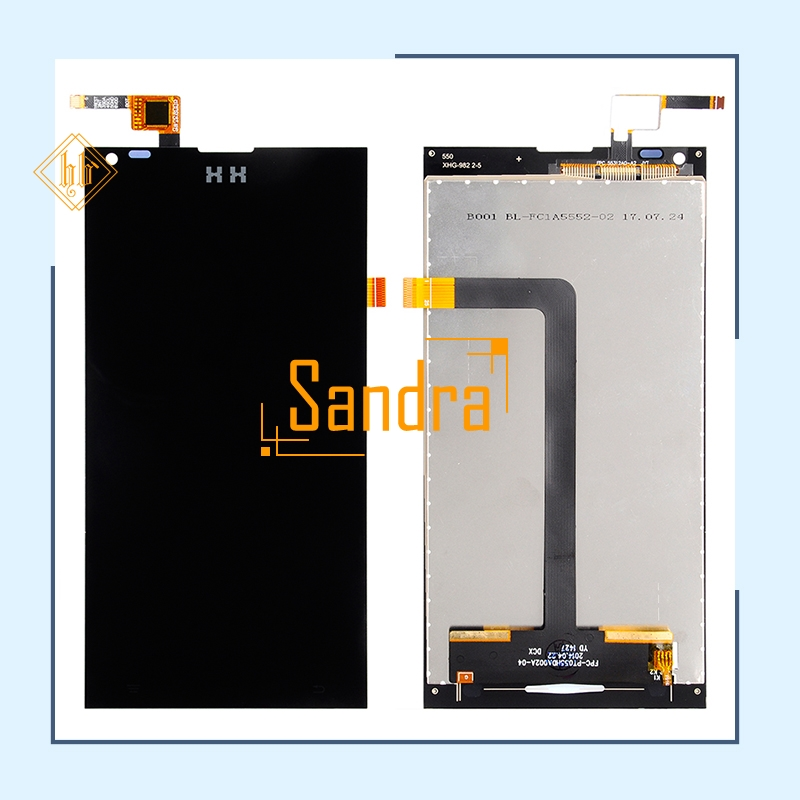 New brand 1pcs DG550 LCD Display Screen With Touch Screen Assembly HH For DOOGEE Dagger DG550 LCD Display Replacement +tools