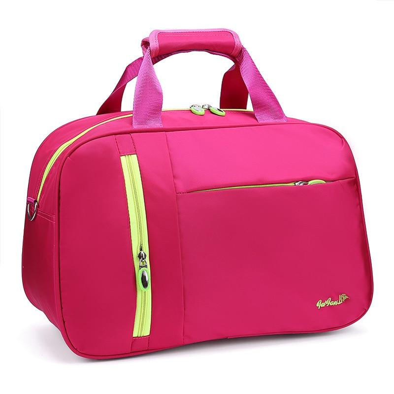 Modo Pink Il Impermeabili Uomini Casuale In Alta Tote Nero Di Duffle Delle Dei Viaggio blu Bagagli Qualità Handbag Da Portatile Borse viola Nylon Donne Borsa hot rWSrqfRxnO