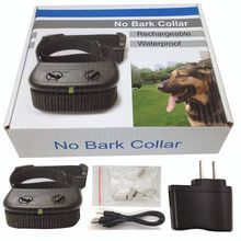 H166 PD850 Waterproof Pet Dog Anti Bark No Bark stop Barking collar Training Control Shock Collar Free Shipping цена