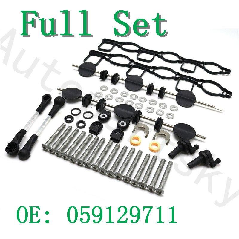 059129711CK 059129711DC 059129712BQ 059198212 059129711 059129712 Intake Manifold Swirl Flap For Audi A4/6/8 For Touareg Phaeton