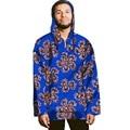 Personalizado africano dashiki africano de impresión con capucha para hombre ropa hombre t-shirt de la manga completa tops of african clothing