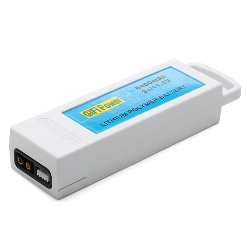 New Arrival Upgarded 11.1V 6400mAh 3S Lithium RC Battery Rechargeable Battery For Yuneec Q500 Q500+ RC Quadcopter keenstone upgrade 3s 6400mah 11 1v 70wh lipo battery for yuneec typhoon q500 q500 4k q500 typhoon g drone rc quadcopter