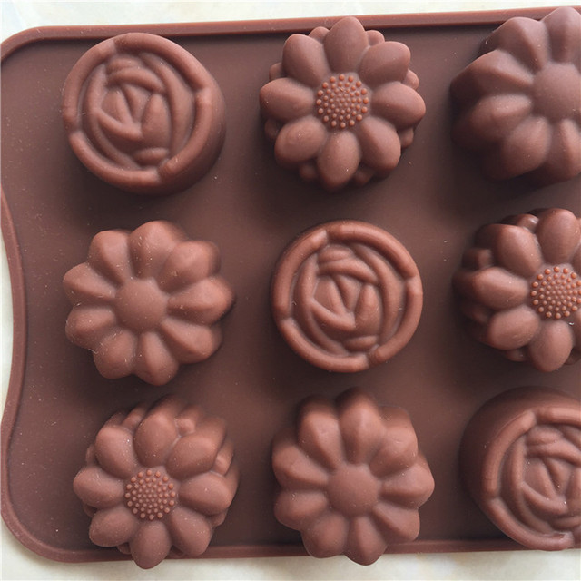 Flower Silicone Chocolate Mold