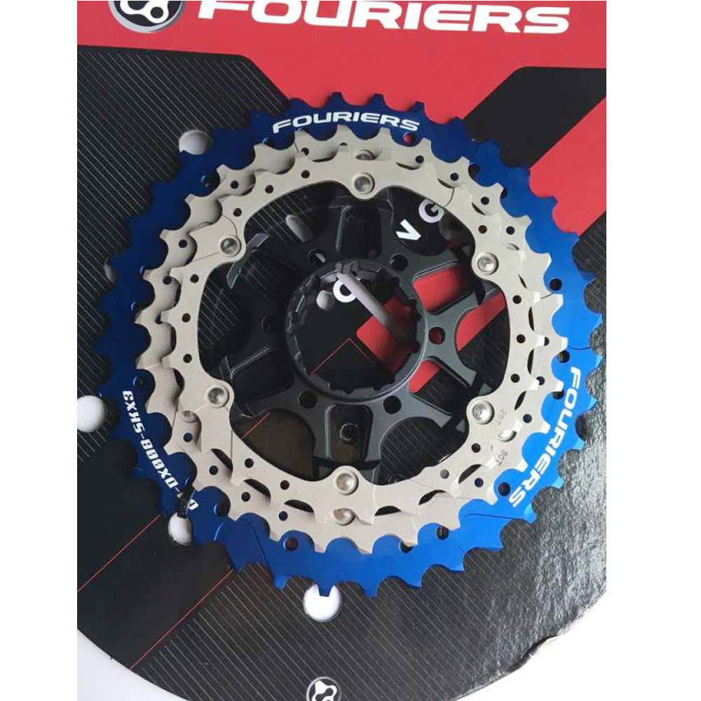 Road Bike Sprockets Cassette Free wheel 26T 30T 36T For Shimano Ultegra 6800 105 5800 11speed Fouriers road bike chain ring bicycle flywheel cassette tool parts 11speed 105 ultegra dura ace for 1x and 2x drivetrain systems
