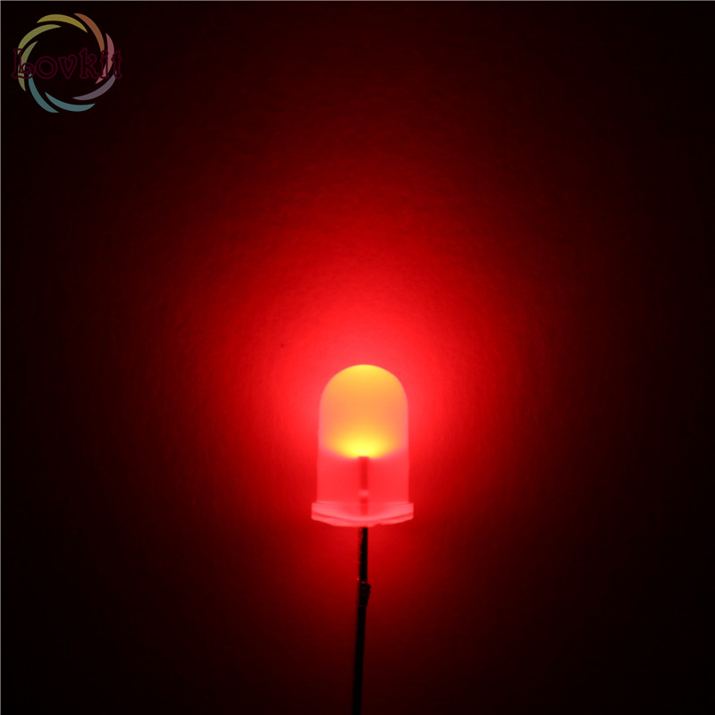 100 LEDS 3MM Diffused white Round Urtal Bright Bulb Light Lamp Emitting Diodes