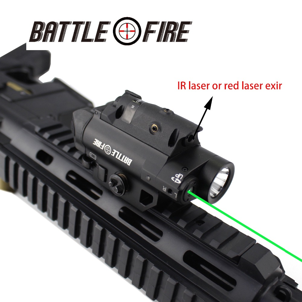 Multi Functional 3 in 1 Red and Green Laser collimator Sight with high light LED Flashlight rifle scope for hunting lazer gun