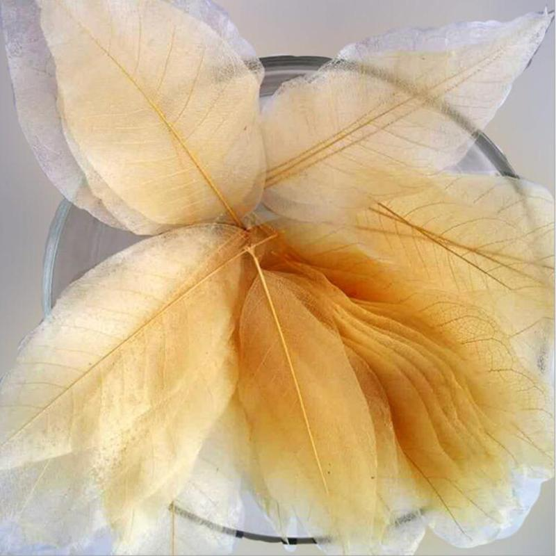 10pcs Leaf Shape Soaps Portable Travel Gold Bath Soap Deep Clean Skin Oil-control Refreshing Cleanser Creative Hand Made Soap W5