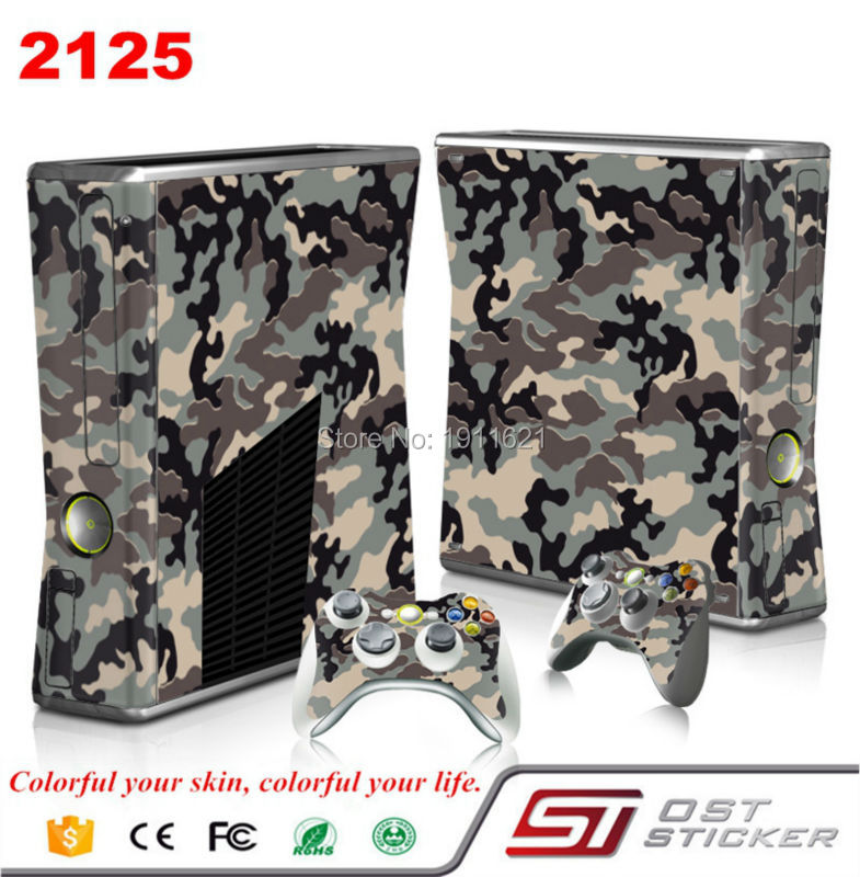 Sticker Cover Wrap Protector Skin Decal For Microsoft for Xbox for 360 Slim Console Controller Durable Dustproof